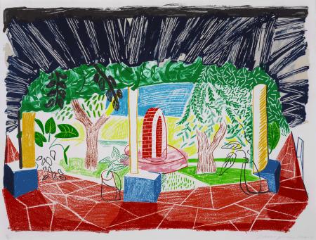 David Hockney:Views of Hotel Well I