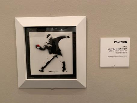 Banksy:THE SECOND PRINCIPLE OF THE ARTIST KNOWN AS BANKSY