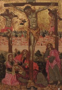 Icons:The Crucifixion