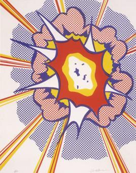 Roy Lichtenstein:Explosion
