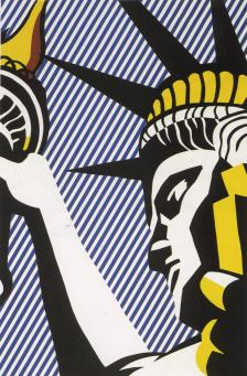 Roy Lichtenstein:I Love Liberty