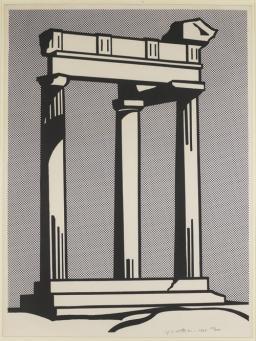 Roy Lichtenstein:Temple (Corlett II.3)