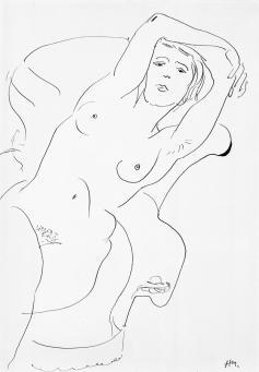 Henri Matisse:Femme Nue