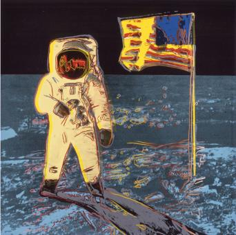 Andy Warhol:Moon Walk, F & S II.404