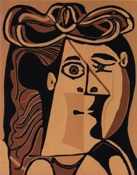 Pablo Picasso:Femme au Chapeau