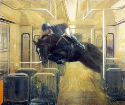 Nicola Pucci:Jumping Through a Tram
