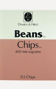 Damien Hirst:The Last Supper (Beans Chips)