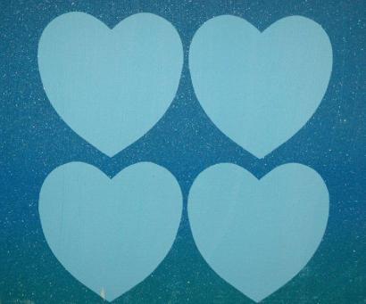 Andy Warhol:Diamond Dust Hearts