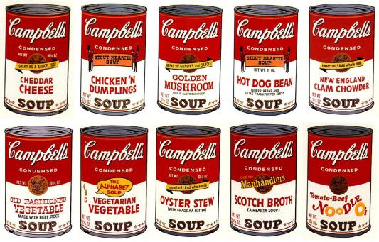 Andy Warhol:Campbell's Soup Can II (Complete Portfolio)