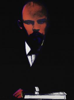 Andy Warhol:Black Lenin