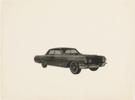 Andy Warhol:Untitled (Car)