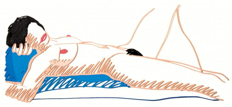 Tom Wesselmann:Monica Lying on Her Back