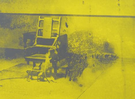 Andy Warhol:Electric Chair, F & S. II.74