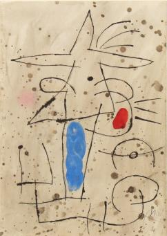 Joan Miro:Le Courtisan Grotesque 4