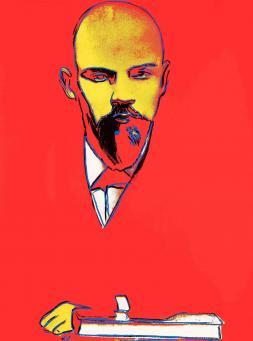 Andy Warhol:Red Lenin