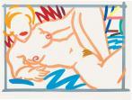 Tom Wesselmann:Judy on Blue Blanket