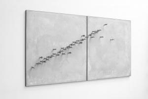 Peter Burke, 'Broken Line', 2015, Unique, signed