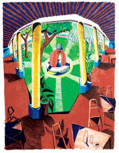 David Hockney The Story Of The Artist S Hotel Acatlan